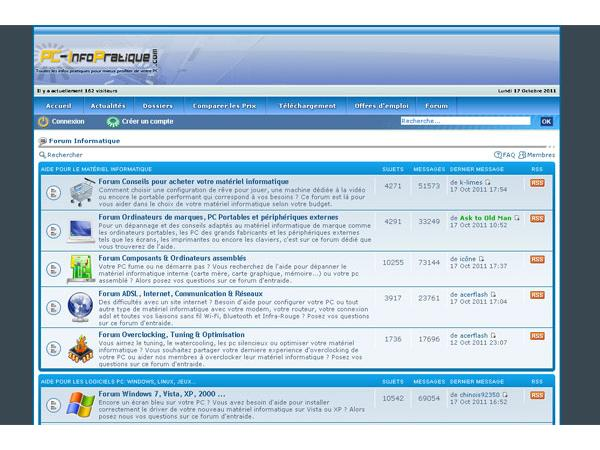 PC-InfoPratique : Forum informatique
