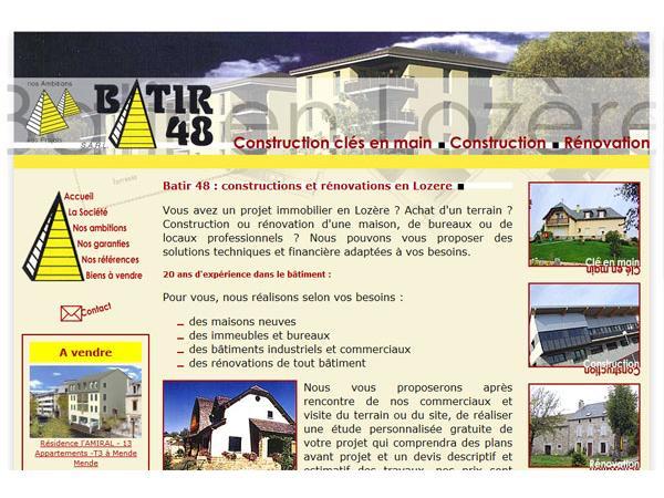 Batir 48 - Constructions et rénovations en Lozère