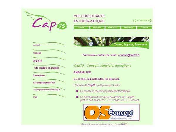 Cap75 : accompagnement informatique et conciergerie