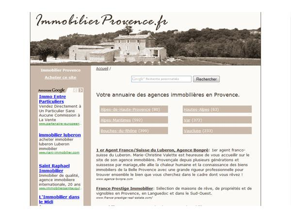 Immobilier Provence