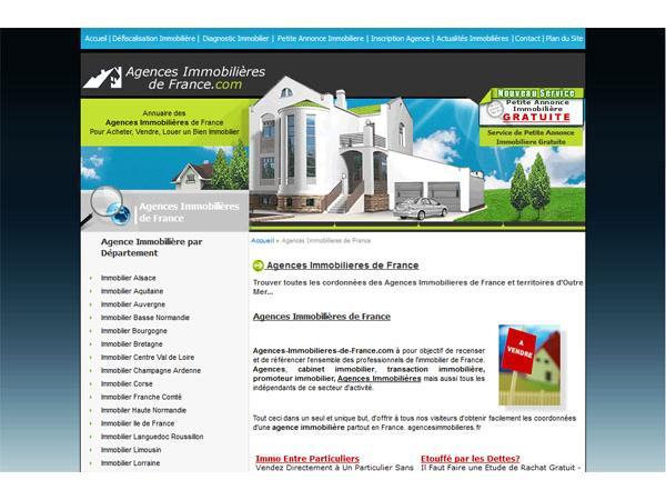 Agences Immobilieres de France