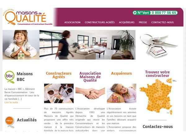 Association Maisons de Qualité - La construction de maison individuelle