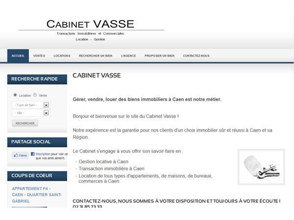 Cabinet VASSE - Agence Immobilière à Caen