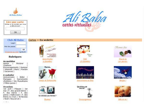 Ali Baba Cybercartes