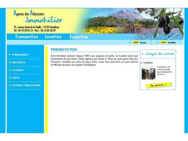 AA Immo agence immobilière Aix en Provence