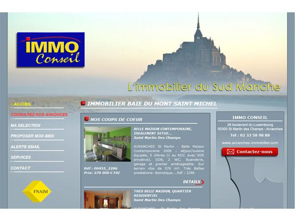 Immo Conseils - agence immobilière à Avranches