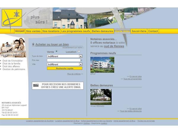 Notaires de Bruz - Conseil immobilier à Bruz