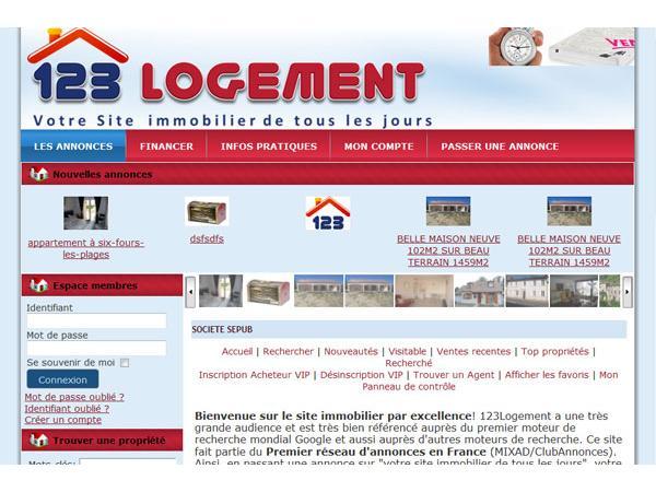 Le site gratuit de l'immobilier