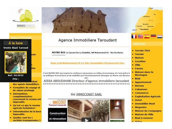 taroudant immobilier maroc