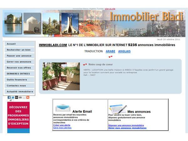 annonces immobiliere au pays arabe