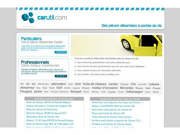 Carutil: pièces détachées auto dans nos casses abonnées
