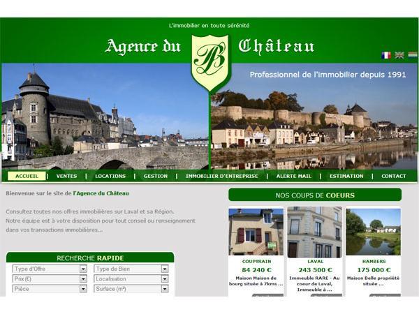 Agence du Chateau - Location Vente sur Laval et la Mayenne