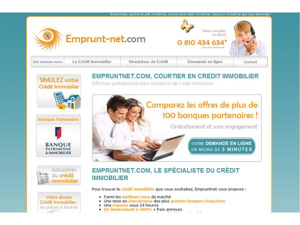 empruntnet.com, courtier en credit immobilier, emprunt et financement immobilier