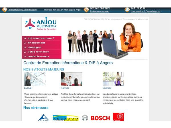 AnjouMultimedia : Formation informatique