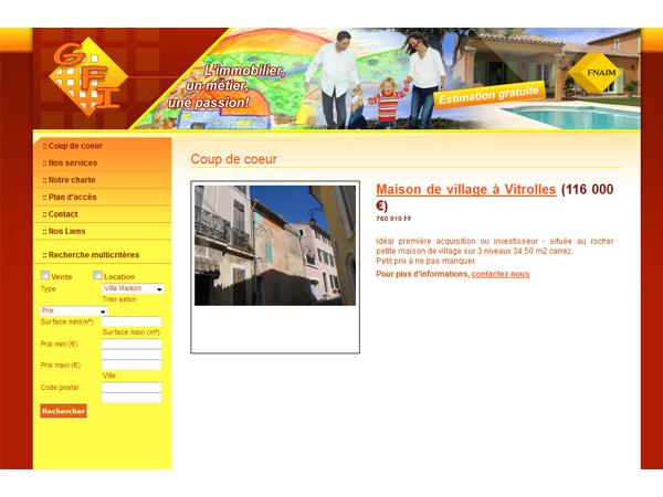 GFI immobilier:Agence immobilière Saint Victoret