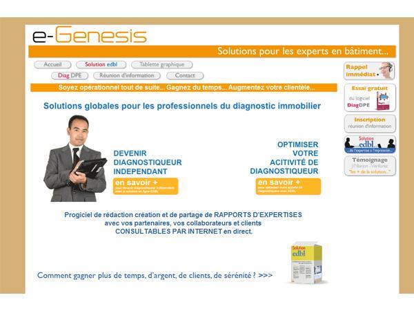 e-Genesis - Solutions pour les experts en bâtiment