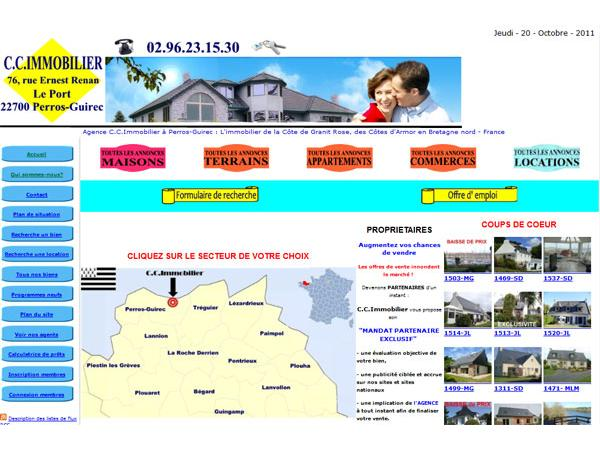 welcome to C.C.Immobilier en Bretagne
