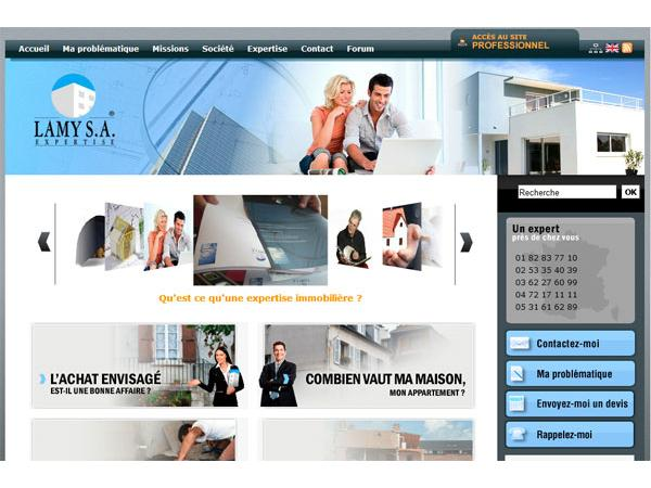 Lamy SA : expert immobilier pour particuliers