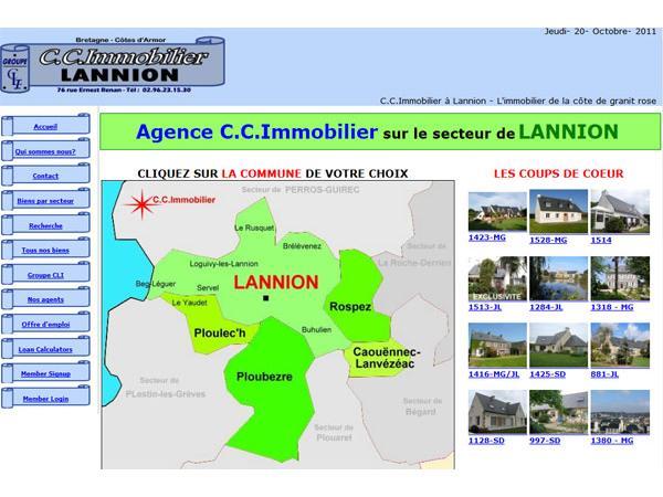 L?immobilier à Lannion en Bretagne, l?ouverture sur la mer et la campagne.