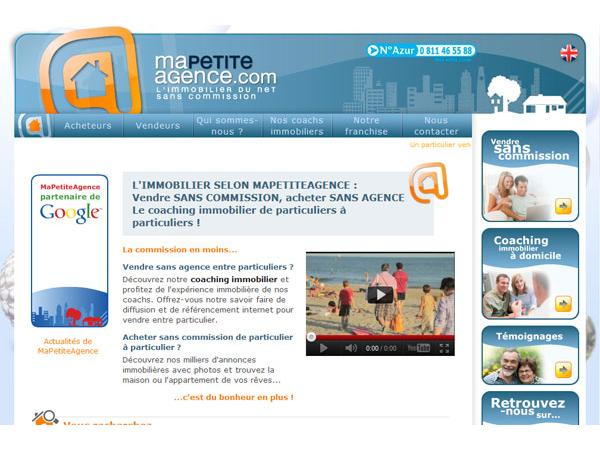 L'immobilier du net sans commission