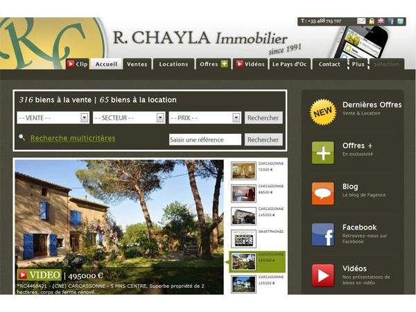 R. CHAYLA Immobilier
