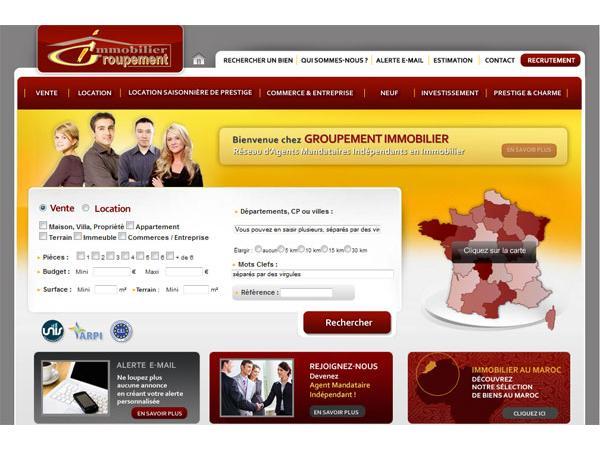 Le Réseau Immobilier France-Maroc-Espagne