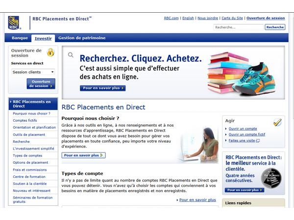 RBC Placements en Direct Inc