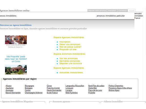 agences immobilières online