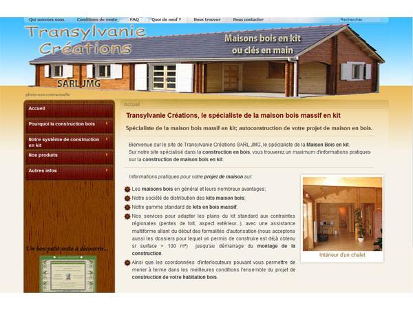 Le spécialiste du kit maison bois