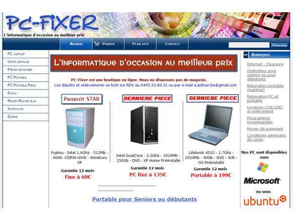 PC-fixer/ l'informatique d'occasion au meilleur prix