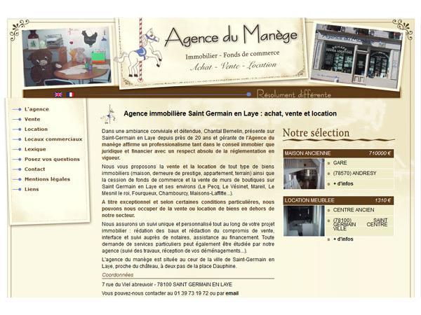 Agence immobilière du Manège à St Germain en Laye
