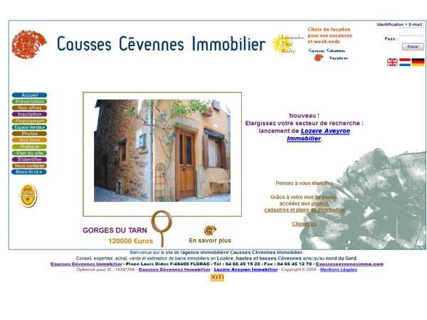 Causses Cévennes Immobilier a Florac - Lozère