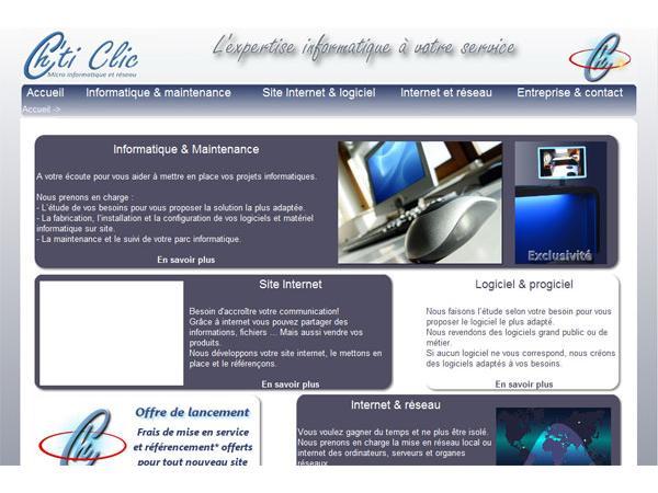 Chti clic Micro Informatique et réeau