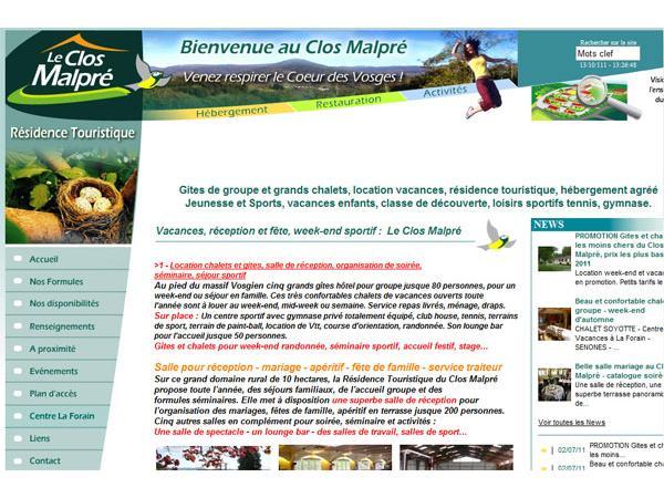 Gites hotel de groupe et loisirs sportifs Vosges