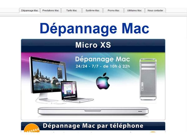 Dépannage Mac, assistance réparation panne mac-Dépannage mac 24/24-7/7