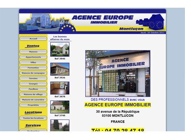 www.europeimmobilier-montlucon.fr