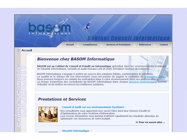 BASOM - Conseils en sécurité informatique