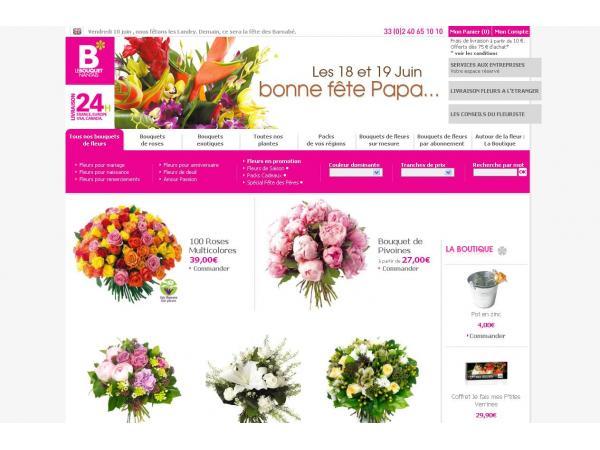 Le Bouquet Nantais - livraison de fleurs