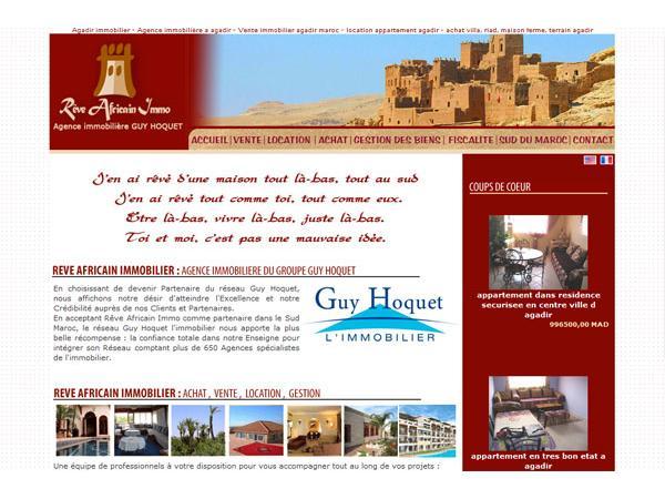 Agence immobilière Agadir rêve africain