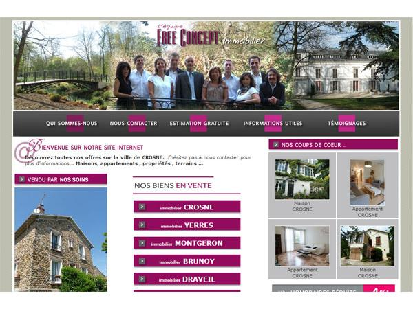 immobilier crosne