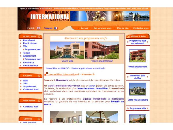 immobilier marrakech