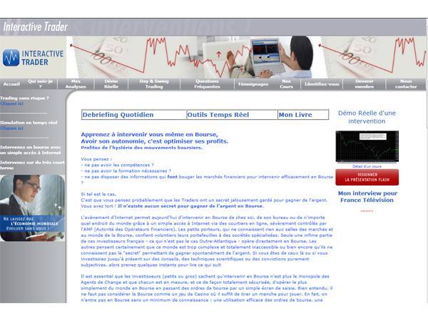 Interactive Trader - Pour intervenir intelligemment en Bourse