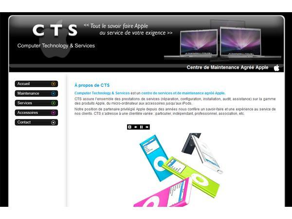 CTS - Dépannage d'ordinateurs Macintosh à Paris