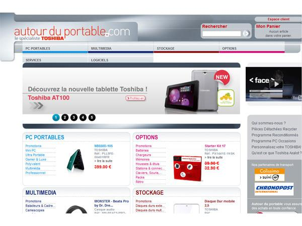 Accessoires PC et Options Toshiba