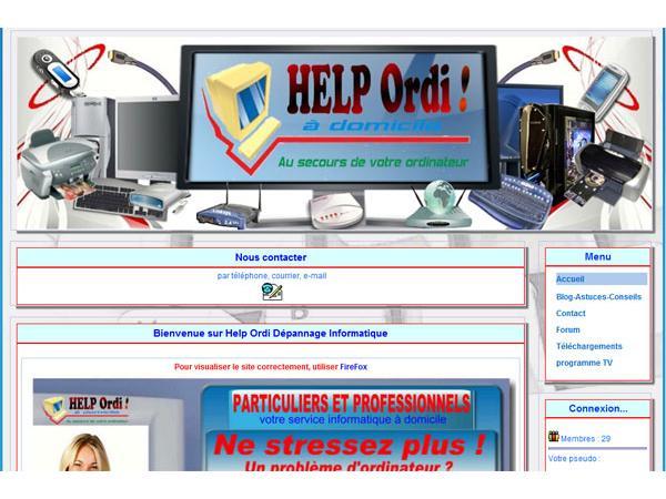 Help Ordi a Domicile Calais et environs
