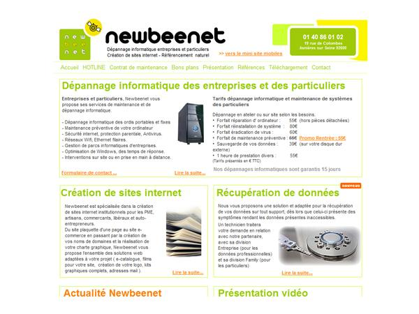 Newbeenet assistance informatique à distance