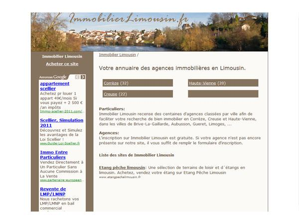 Immobilier Limousin