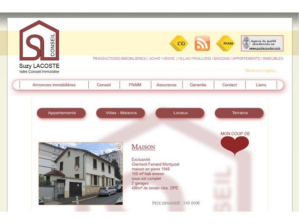 Suzy Lacoste Votre Conseil Immobilier