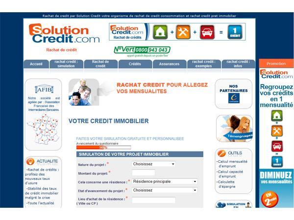 Solution crédit : crédit immobilier