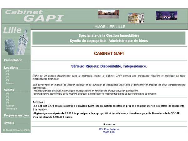 Cabinet Gapi